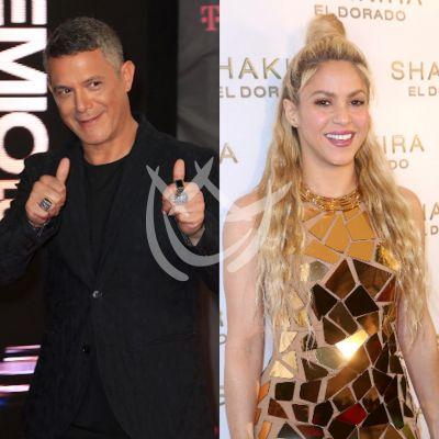 Alejandro Sanz espera horas por el peinado de Shakira