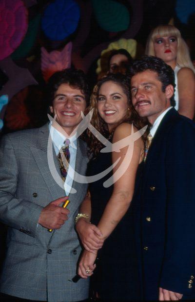 Ernesto Laguardia, Lucero y Alexis Ayala 1993