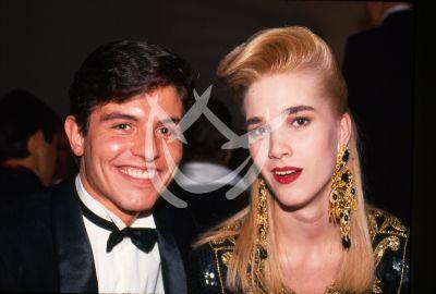 Ernesto Laguardia y Rebeca Sada, 1990