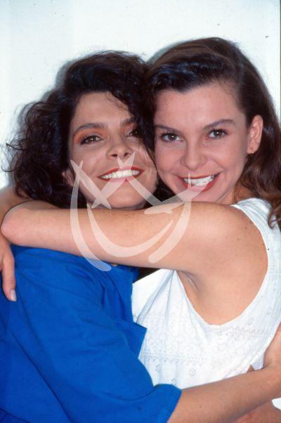 Mariana Garza y mamá Ana Silvia Garza