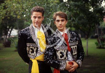 Víctor Noriega y Sergio Mayer, 1989