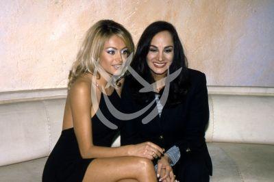 Paulina Rubio y mamá