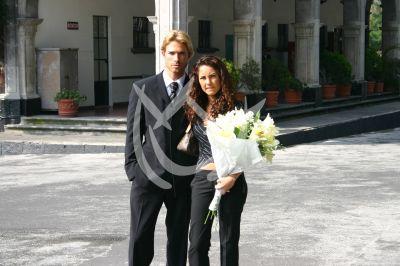Bárbara Mori y Sebastián Rulli