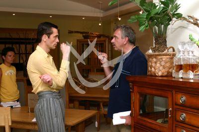 Miguel Pizarro y José Elias Moreno