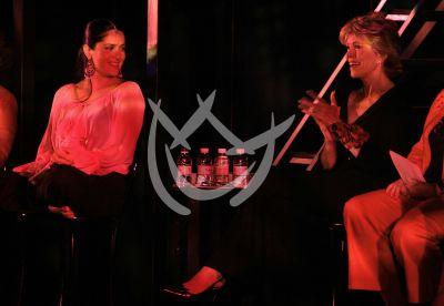 Salma y Jane Fonda en escena