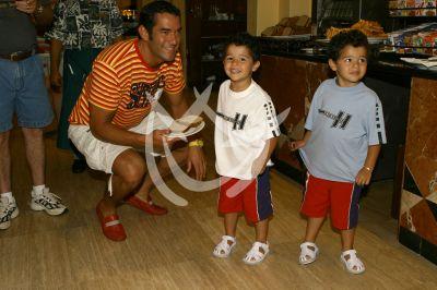 Eduardo y sus gemelos