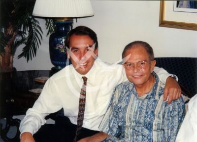 Emilio Azcárraga y Raúl Velasco