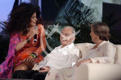 Raúl Velasco y Gloria Trevi