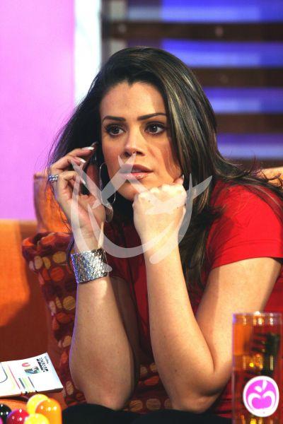 Luz Elena González embarazada