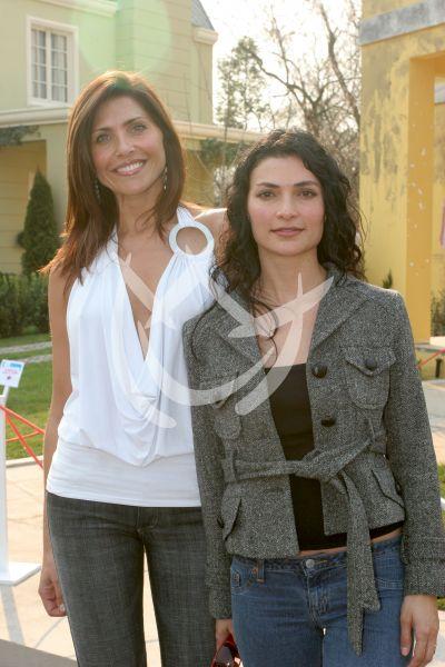 Lorena Meritano y Ana María Orozco
