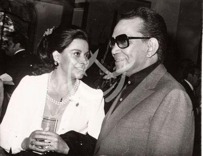 María de Lourdes y Cantinflas