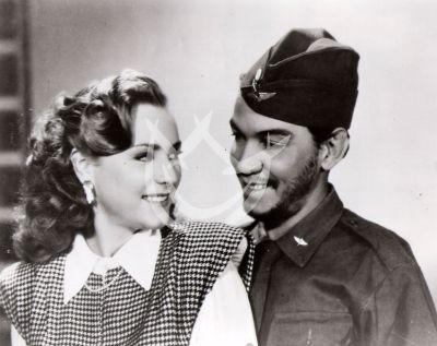 Miroslava y Cantinflas, 1947