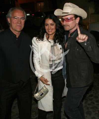 Salma y Bono en Mx