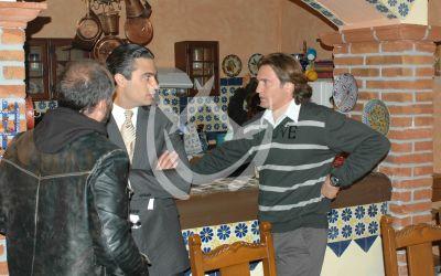 Jaime Camil y Juan Soler