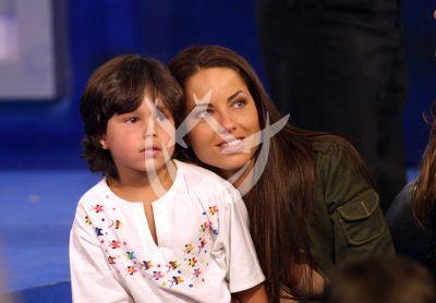 Barbara Mori e hijo Sergio