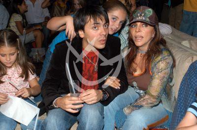 Veronica Castro e hijo Michel