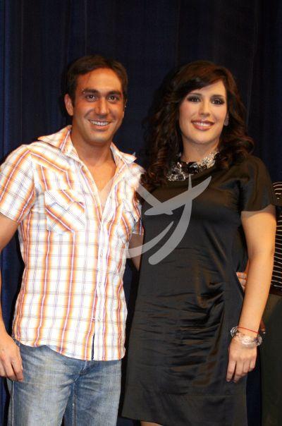 Alex Ibarra y Angélica Vale en Vaselina