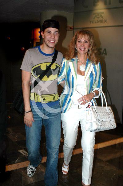 Cristian y su mamá