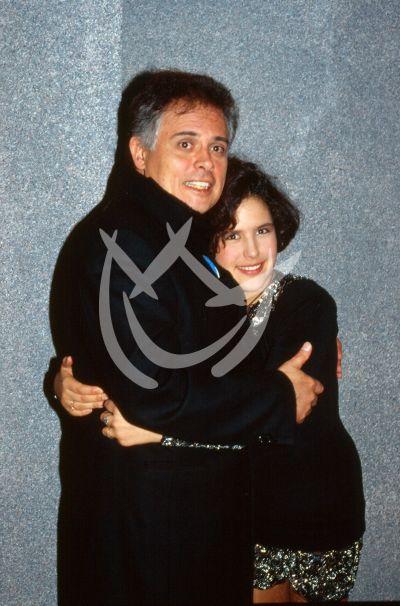 Angélica y papá Raúl