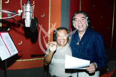 Armando Manzanero y Marco Antonio Muñiz