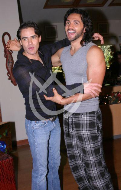 Jorge Poza y Alejandro Maldonado