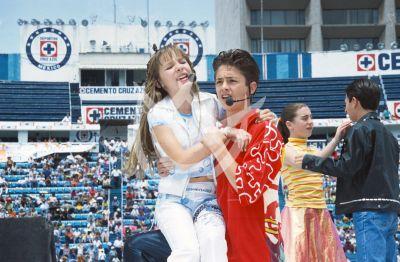 Belinda y Cristopher en el 2001