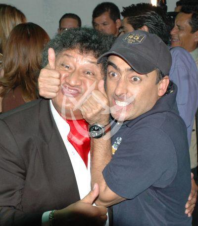 Adal Ramones y Jorge Falcón