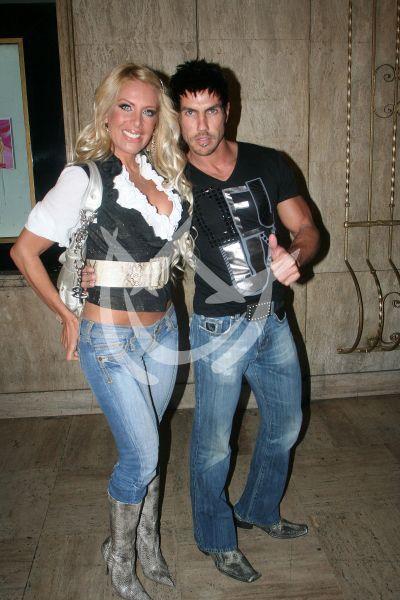 Lorena Herrera y Roberto Assad