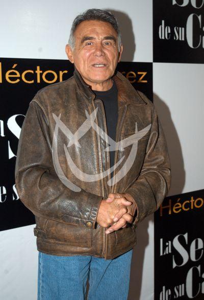 Héctor Suárez celebra