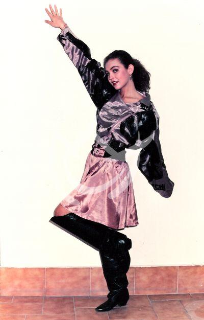 Thalía en 1989