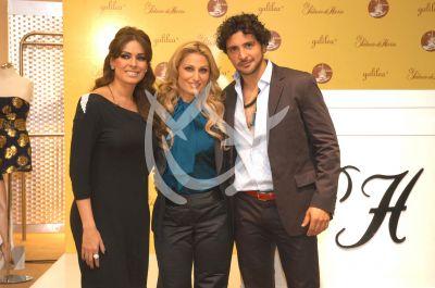 Galilea, Anette y Alejandro