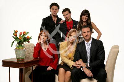 Imanol, Mariana, Cecilia y Alejandro