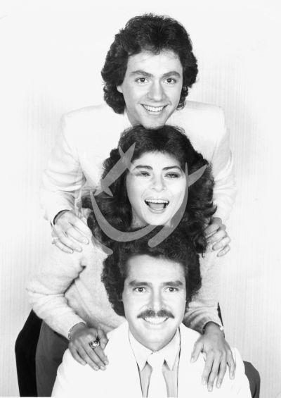 Victoria, Luis y Juan Antonio