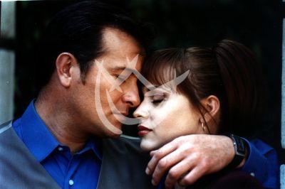 Gaby Spanic y Arturo Peniche en La Intrusa