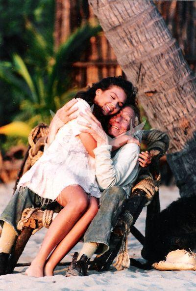Thalía y Tito Guízar en 1994
