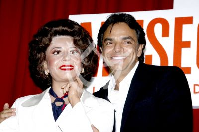Eugenio y Doña Sylvia de cera