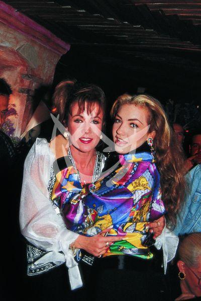 Laura Zapata y Thalía