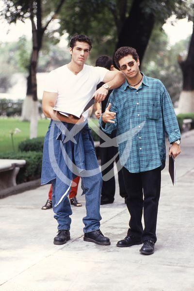 Eduardo Verástegui y Diego Shoening 1997