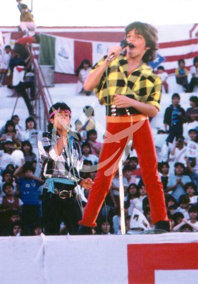 Ricky Martin en Menudo, 1984