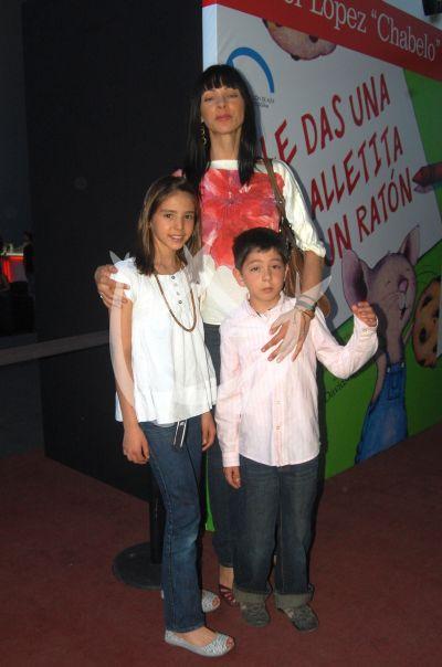 Celina del Villar e hijos