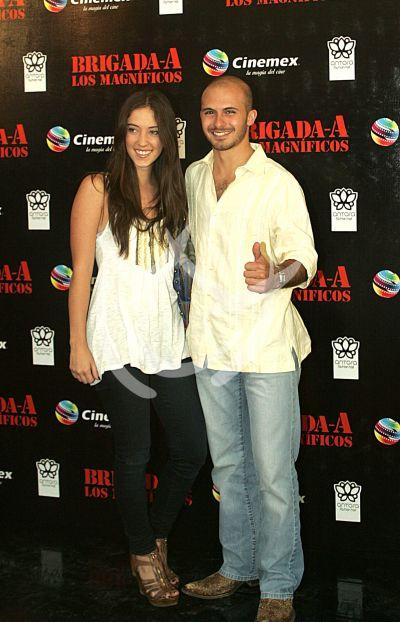 Imanol y su novia
