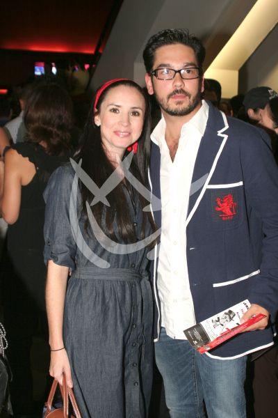Andrea y Pedro ¡lunamieleros!
