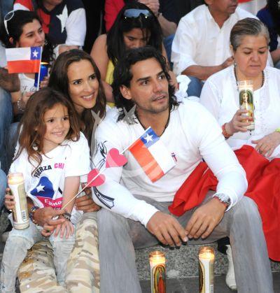 Christián ora por Chile