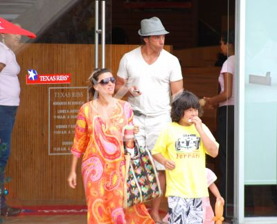 Isabella y Sergio ¡en familia!