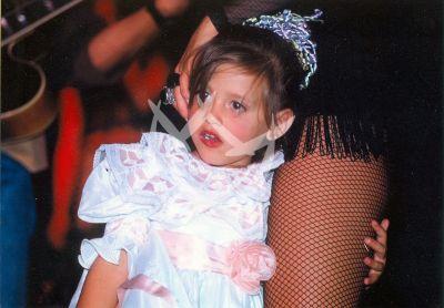 Michelle Salas a los 3 años