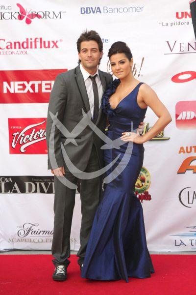 Premios TvyNovelas 2011: Llegadas