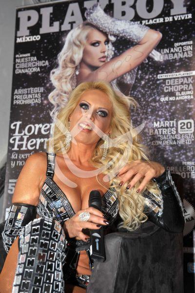 Lorena Herrera en Playboy