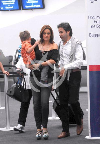 Luz Elena en familia ¡a volar!