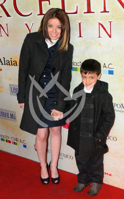Violeta Isfe e hijo Omar