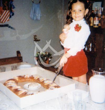 Thalia a los 6 años